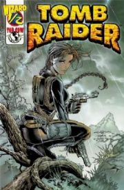 Tomb Raider Wizard #1/2 COA Top Cow comic book